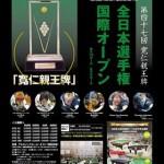 第47屆全日本撞球錦標賽-海報