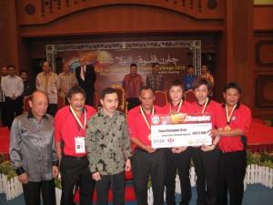2010 Team Asia day 3~Winner