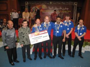 2010 Team Europe day 3~Runner up