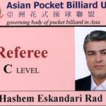 IRAN C referee