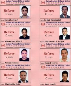 IRAN C referee 2-9046