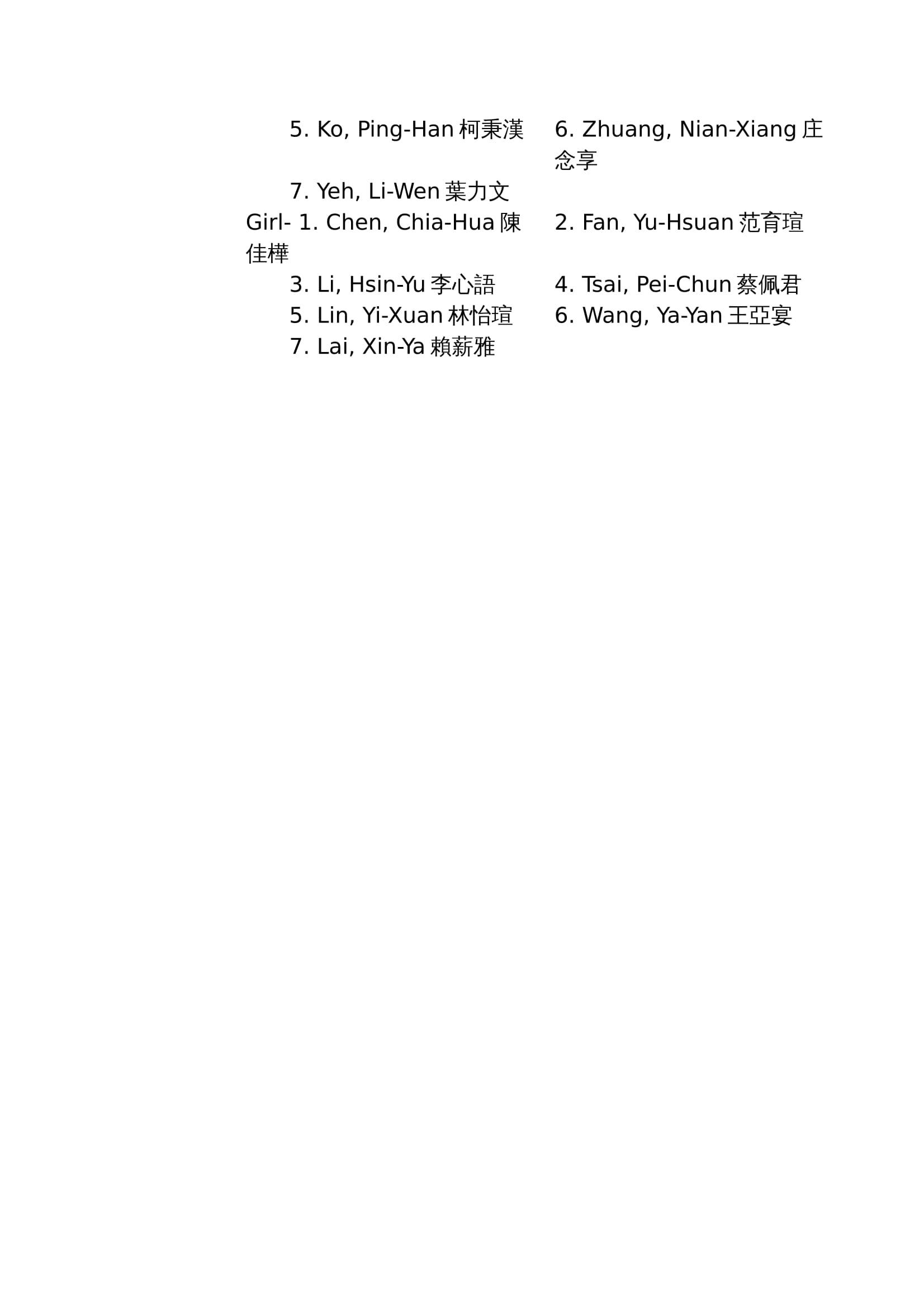 Team List-3