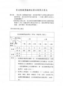 109年5月29日教育部令-亞奧運-有功教練獎勵辦法
