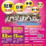 149-150安麗全國女子撞球排名賽