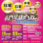 151-152安麗全國女子撞球錦標賽